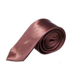 2017 New Exquisite Man Solid Color Polyester Silk Neck Tie Cravatta eosegal-eosegal
