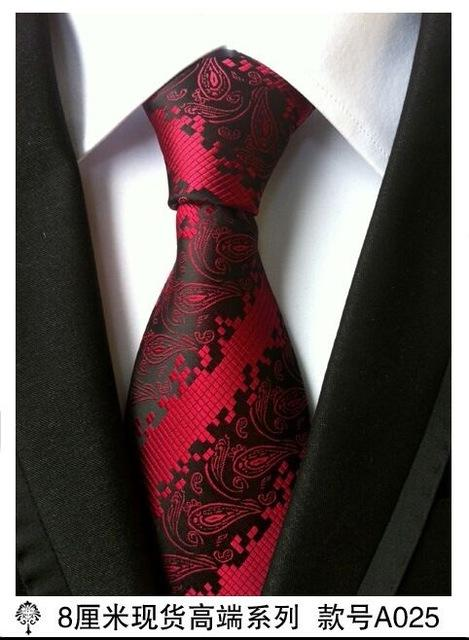 8 cm neck ties for men luxury 100% silk mens necktie 8cmeosegal-eosegal