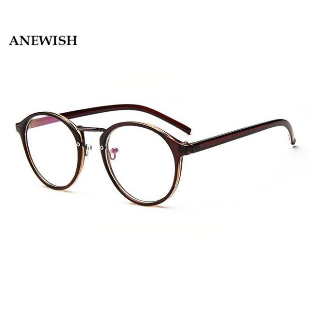 Women's Reading Glasses Female Transparent Vintage Round Eyeglasses Frame Men Computer Eyeweareosegal-eosegal