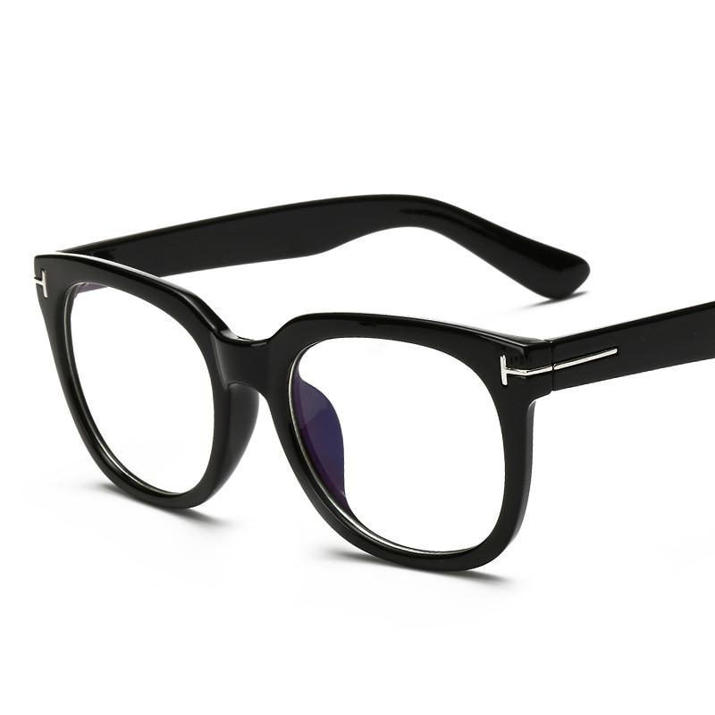 Luxury Computer Glasses Frames Men Clear Lens TF Myopia Glasses Fashion Eyeglasseseosegal-eosegal