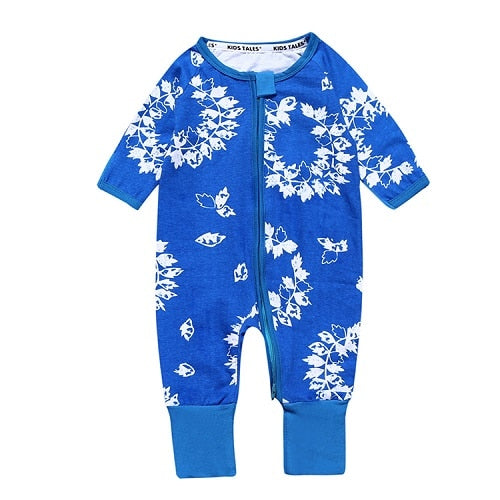 Spring Autumn Cute Baby Clothes for Sleeping Pajamas Baby Rompers Bebes Clothes for Little Boys Girls Newborn Overalls SR292-eosegal