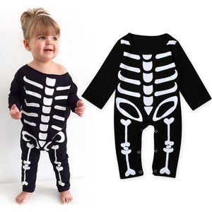 2017 Baby Girl Clothing Set Toddler Infant Full Outfits Autumn Boy Girls Clothes with Jumpsuits Clothes Halloween Costume-eosegal