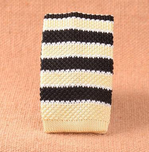 Knitted Ties 6cm Wide Slim Necktie for Men 2017 New Fashion Designereosegal-eosegal