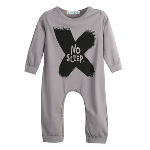 Newborn Baby Clothes Babyworks One Pieces Baby Romper Infant Boys Girls Long Sleeve Jumpsuits Clothing Baby Rompers-eosegal