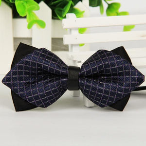 Commercial Men's Bow Tie Skinny Brand 12cm*6.5 cm Bowties For Meneosegal-eosegal