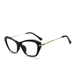 Women Retro Sexy Eyeglasses Frame Fashion Cat Eye Clear Lens ladies Eyeeosegal-eosegal