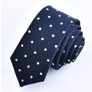 Good 1x British Style 5cm Neck Tie Slim Narrow Casual Dot Stripedeosegal-eosegal