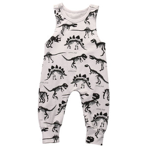 Pudcoco Baby Boys Rompers Jumpsuit Summer Newborn Tank Romper Baby Clothes Cotton-eosegal