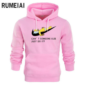 2017 Autumn New brand Men Hoodies Spoof Cartoon Fashion Printing Cottoneosegal-eosegal