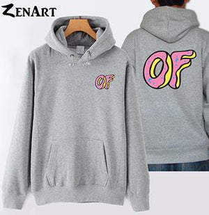 coloful Donut front small logo back large logo Awesome Odd Future Sprinkleeosegal-eosegal
