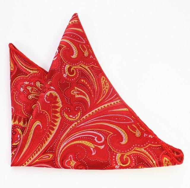 Men's Paisley Handkerchief Vintage Floral Pocket Square Business Chest Towel Plaideosegal-eosegal