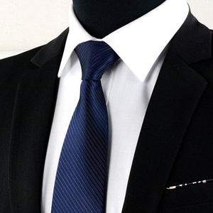 8 Cm Male Formal Wear Black Tie Business British Style Professional Workingeosegal-eosegal