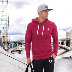 2017 New Fitness Men Bodybuilding Hoodies Gyms Brand Clothing Men Hoodyeosegal-eosegal