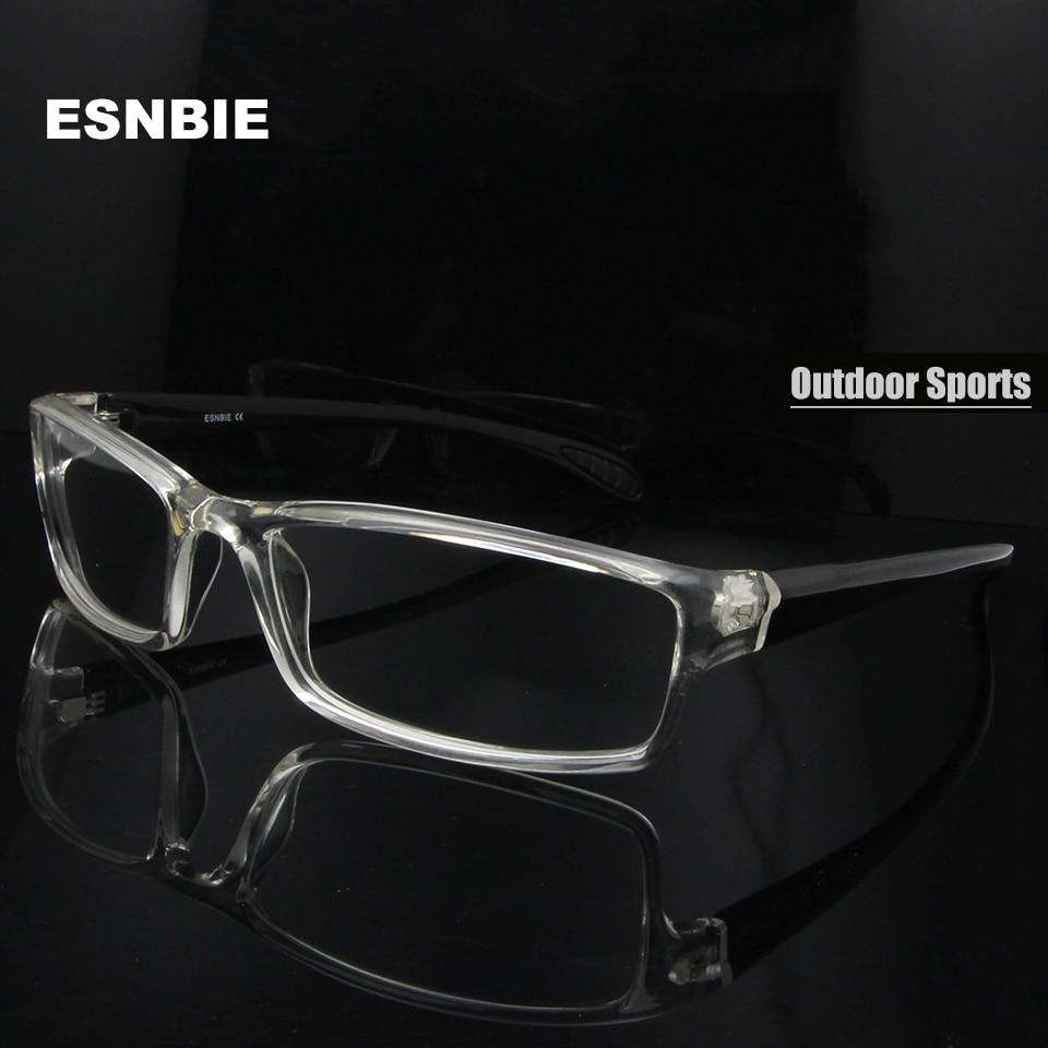 Mens monturas de lentes hombre Prescription Glasses TR90 Flexible Eyeglasses Frameseosegal-eosegal