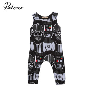 Newborn Infant Kids Baby Boys Star Wars Romper Jumpsuit Clothes Outfits-eosegal