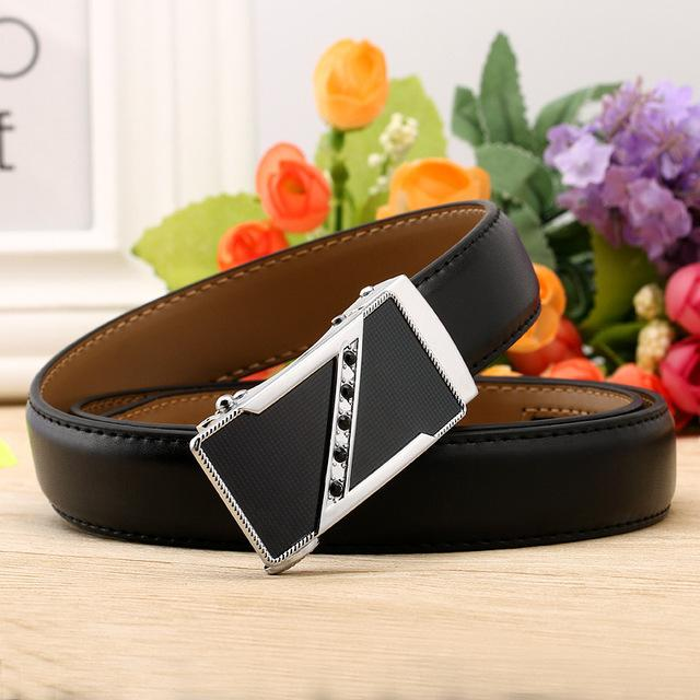 CETIRI women designer belt luxury ladies genuine leather rachtet women's belt with rhinestones jeans female belt ceinture femme-eosegal