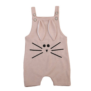 2017 Toddler Baby Boy Girl Knitting Romper Jumpsuit Winter Suspender Animal 3D Ear Baby Clothes Playsuit Outfit-eosegal