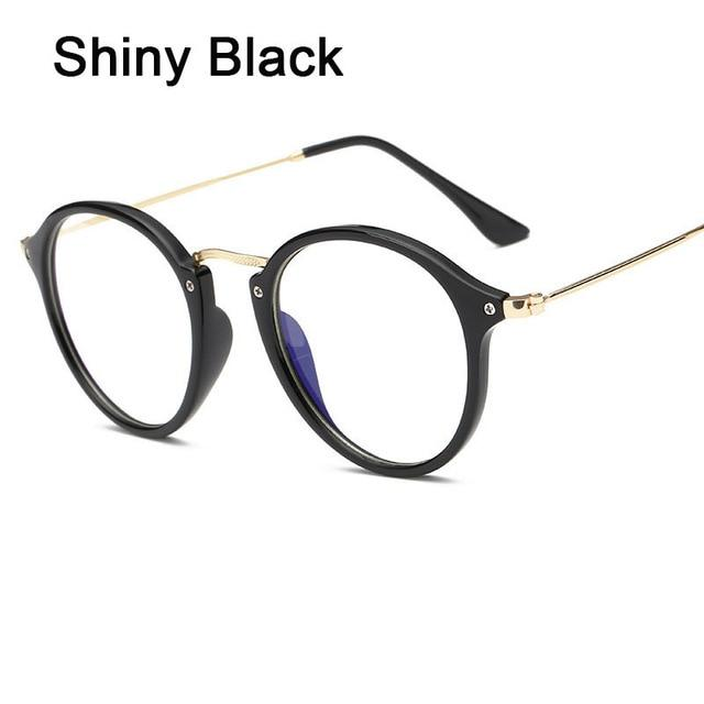 Anti Blue Ray Women Computer Glasses For Men Transparent Eyeglasses Round Fashioneosegal-eosegal