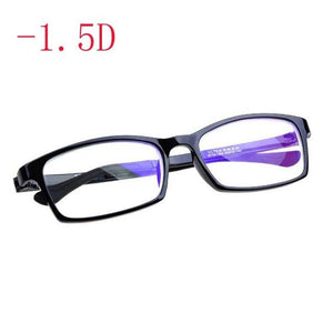 Finished myopia glasses Nearsighted Mirror Red Or Black Fashion Plastic Frame Myopiaeosegal-eosegal