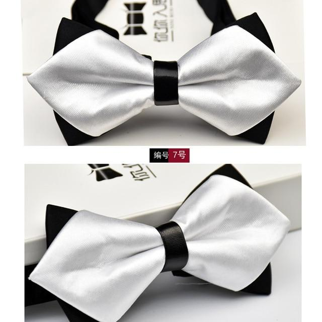 New Polyester Men's Bow Tie Noeud Papillon Brand Classic Dot Tie Bowtieeosegal-eosegal