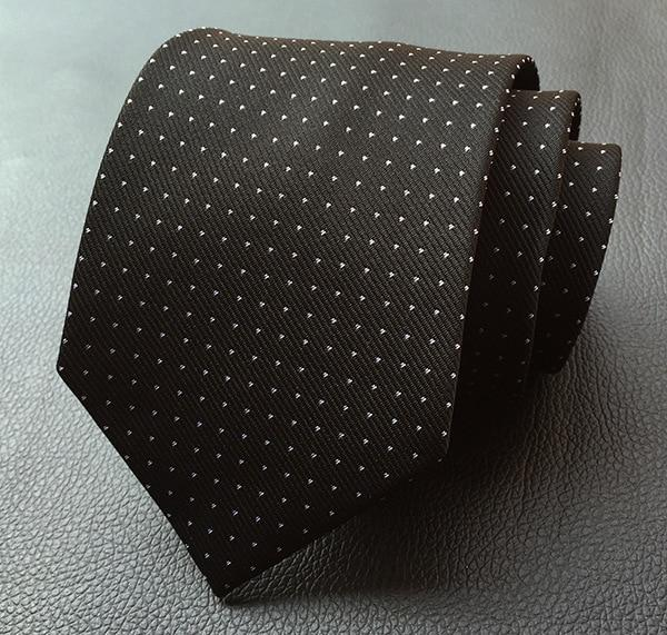 8cm Men's Ties New Man Fashion Blue Red Black Navy Polka Doteosegal-eosegal