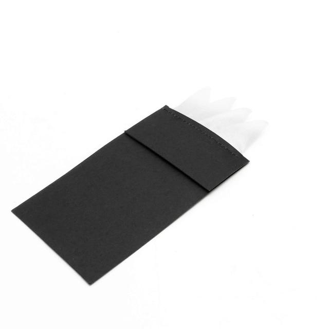 Charm Men Suit Insert Pocket Square Solid Color Handkerchief for Wedding Partyeosegal-eosegal