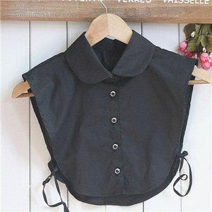 Hot Women Clothes Shirt False Collar White&Black Blouse Vintage Detachable Collars foreosegal-eosegal