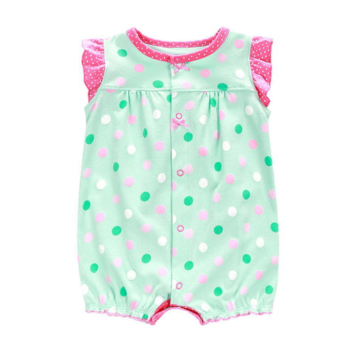 Summer Baby Rompers Cartoon Newborn Girls Clothes Toddler Boys Clothing Short Sleeve Cotton Romper Roupas Bebes Infant Jumpsuits-eosegal
