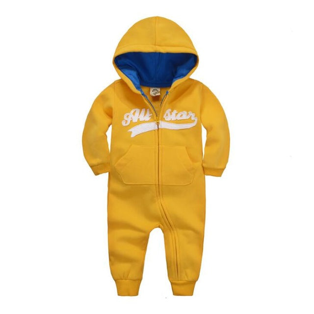 2018 spring Baby rompers Newborn Cotton tracksuit Clothing Baby Long Sleeve hoodies Infant Boys Girls jumpsuit baby clothes boy-eosegal