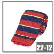 Striped Skinny Knitted ties for men 100% Polyester Woven mens Slim necktieeosegal-eosegal