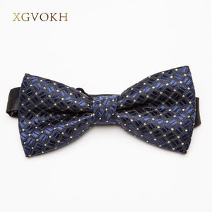 Men's Bow Tie formal necktie boy Fashion business wedding Polyester Bowtie Maleeosegal-eosegal