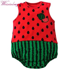 Trendy Infant Baby Suit Girl Boy Cartoon Pattern Romper Jumpsuit Toddler Apparel-eosegal