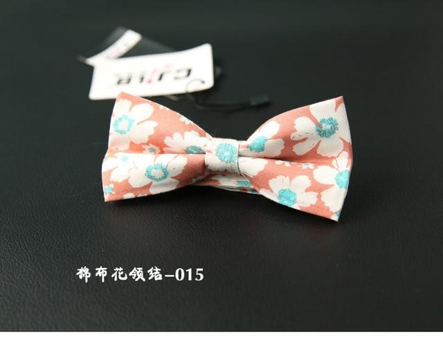 Men's Bow Tie Floral Bowtie Male Rustic Vintage Casual Business Wedding Bowknoteosegal-eosegal