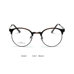 Brand Optical Eyeglasses Frame Women's Myopia Prescription Eyewear Designer Metal Eye Glasseseosegal-eosegal
