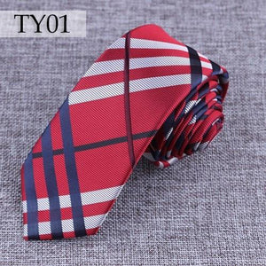 New fashion tie High Quality England style Stripes JACQUARD WOVEN Men's Tieeosegal-eosegal