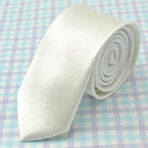 Hot Men Suit Neck Tie 5cm Slim Skinny Satin Silk Norrow Tieeosegal-eosegal