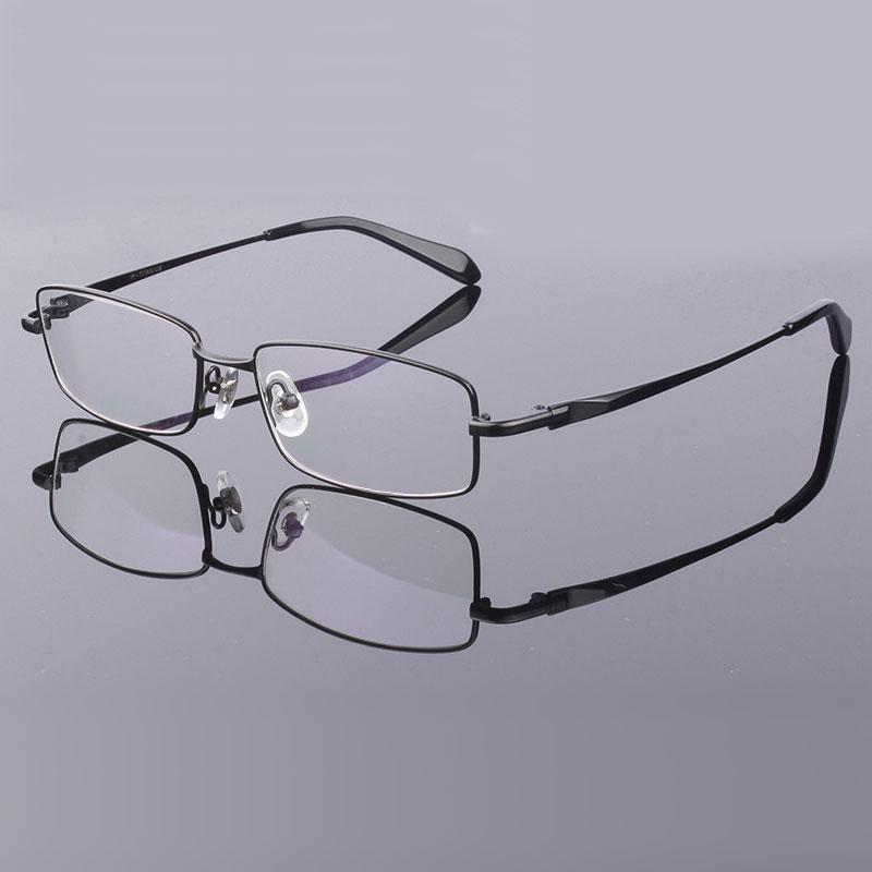 Full Rim Pure Titanium Eyeglasses Frame for Men Optical Glasses Frame Prescriptioneosegal-eosegal