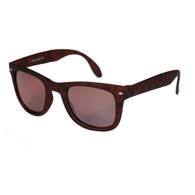 Practical Unisex Foldable Sunglasses With original BOX Folding Glasses With Case Brandeosegal-eosegal