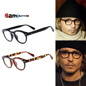 High QualityJohnny Depp Style Glasses Men Retro Vintage Prescription Glasses Womeneosegal-eosegal