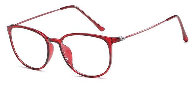 Super Light Weight Cross Decoration Women Glasses Frame Candy Colors Classiceosegal-eosegal