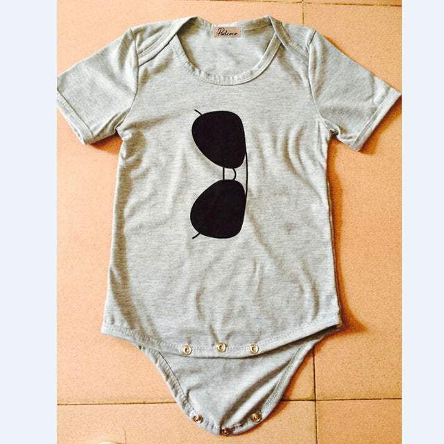 2018 Summer Fashion Baby Girls Short Sleeve Cool Casual Round Neck Infant Cute Jumpsuit Bodysuit Sunsuit Beach Outfits 0-12M-eosegal