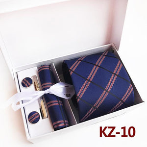 3.35inch(8 Cm) Wide Plaid Classic Mens Neckties Wedding Fashion Party Man Tie,eosegal-eosegal