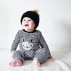 Baby boy clothes 2018 autumn kids clothes Long sleeve baby girl suit clothing set stripe Printed toddler newborn clothes infant-eosegal