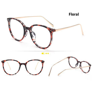 Eyecrafters Fashion Gold Metal Retro Womens EyeGlasses Frame Mens Eyeglasses Frame Vintageeosegal-eosegal