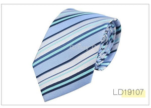 Fashion Classic Silk Ties for Men 7.5cm Width Striped Mens Neckties foreosegal-eosegal