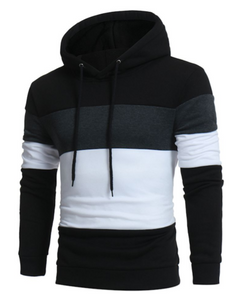 Brand 2018 Hoodie Color Stitching Hoodies Men Fashion Tracksuit Male Sweatshirt Hoodyeosegal-eosegal