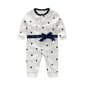 Baby Boy Rompers Pure Cotton Newborn Baby Clothes Gentleman Style Bow Tie Jumpsuit Toddler Boys Clothing 2018 Summer Roupas Bebe-eosegal