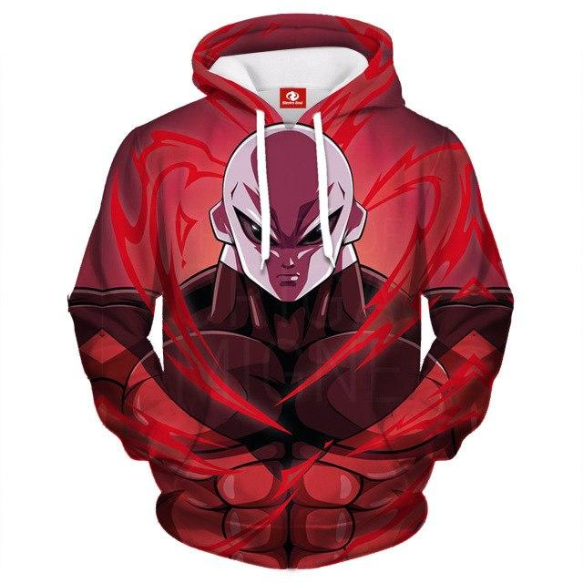2018 Fashion Anime Dragon Ball Z Kids 3D Print Hooded Sweatshirts Gokueosegal-eosegal