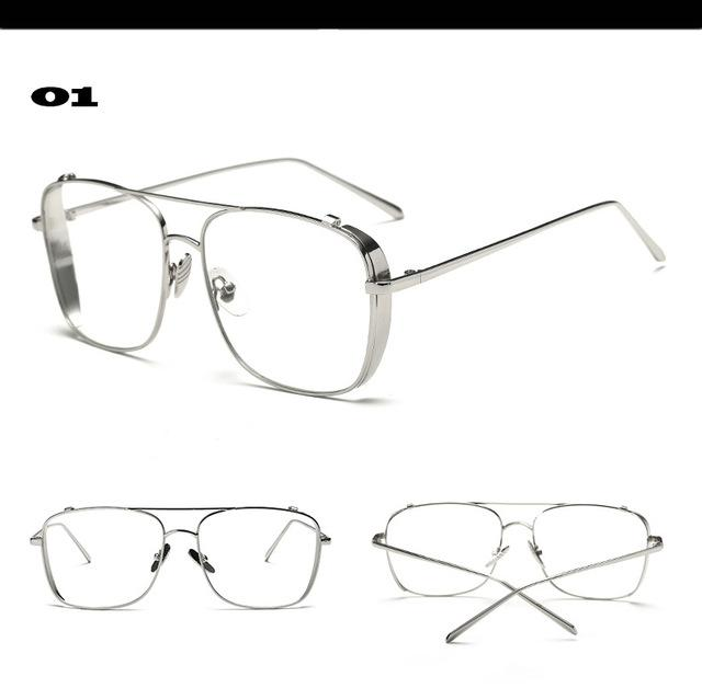 Luxury eye glasses Frames for Men Top Quality Flat Topeosegal-eosegal