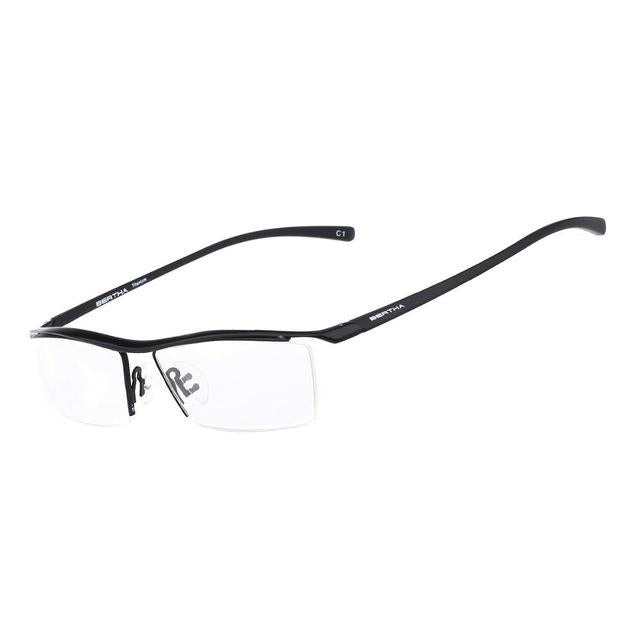 2018 Men Z Pure Titanium Semi-rimless Eyewear Business Optical Glasses Frameeosegal-eosegal